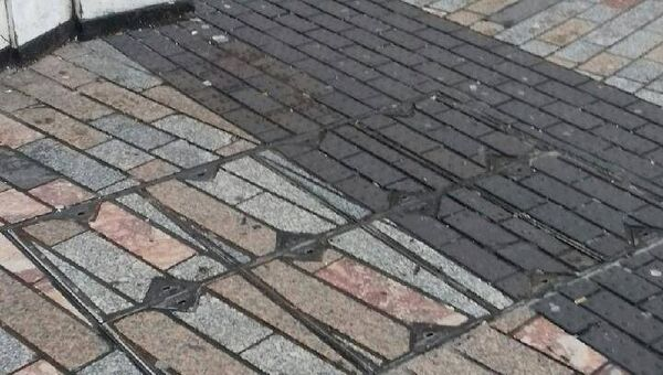 The reinstated paving on Patrick's Street. Pic: Cork City Council