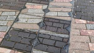 Paving mix-up led to problem for blind