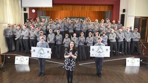 Fermoy school aiming for a Christmas number one to support their classmate
