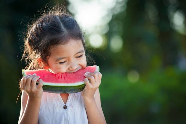 EAT LIKE A SCIENTIST: Help your child appreciate their senses.