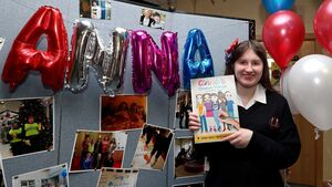Anna gets her dream as her colouring book is published