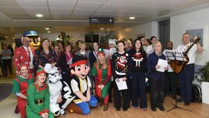 Magic and smiles for Hospital Children's Club Christmas trip
