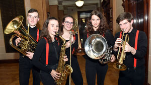 VIDEO: It's Toy Show time for Rebel Brass Band