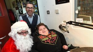 Video: A Christmas wish came true for brave teen who has spent his life battling illness