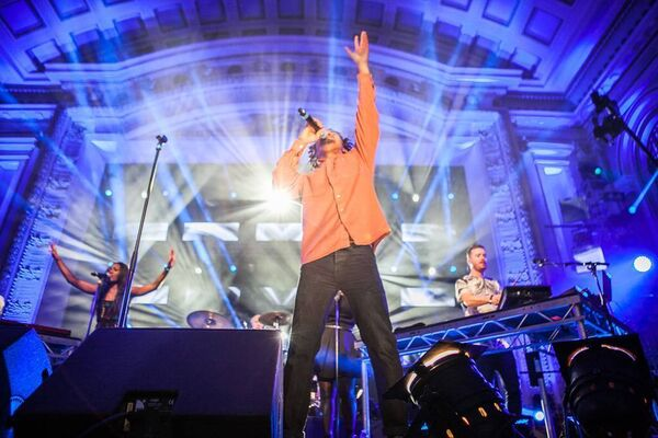 Gorgon City performing in Cork City Hall in 2014. Picture: Rory Coomey