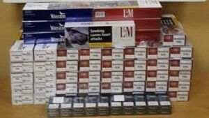 Revenue seized €6.7k of cigarettes at Cork Port