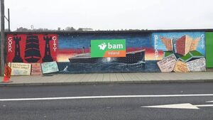 BAM removes sign from Titanic mural after criticism