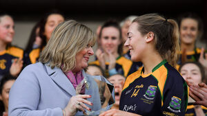 Glanmire ladies footballers' rising star Hannon is still basking in All-Ireland glory