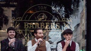 Video: Barbershop nails their Cork colours to the mast