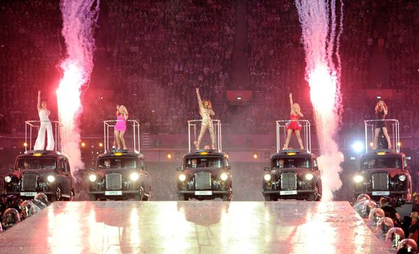 Ciarán was paired with Baby Spice, when The Spice Girls performed at the Olympic Games in London, back in 2012.