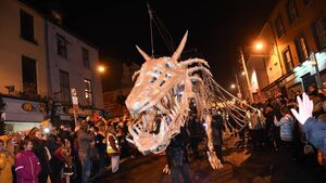 Video & Pictures: The Dragon re-emerges on Shandon