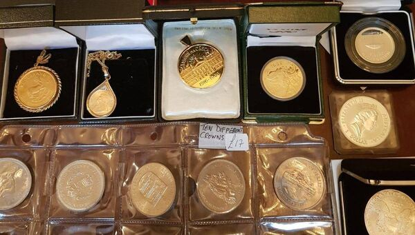 The gold and silver coins were also seized in the raids. Searches were conducted at one residential premises in West Cork and two business premises in Cork City.