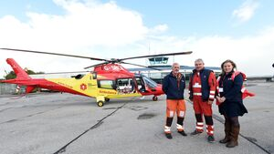 Irish air ambulance worries flying doctors