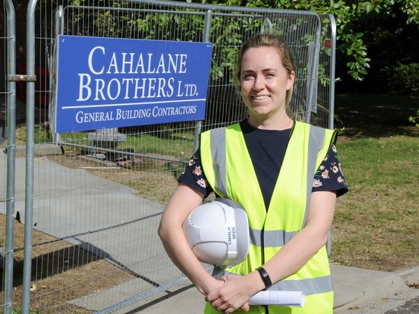 Marguerite O'Callaghan, project manager with Cahalane Brothers. Picture Denis Minihane.