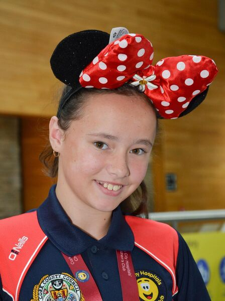 Leah Relihan from Shanballymore, who travelled to Eurodisney with the Cork City Hospital Childrens Club. Picture: Howard Crowdy