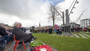 Tributes to Cork's 4,000 dead at the centenary of WW1's end