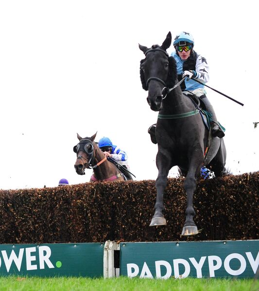 Dark Outsider and Paul Townend win the Paddy Power Onside App Handicap Chase. Picture: Healy Racing