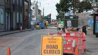 Passage West roadworks are paused despite being ahead of schedule