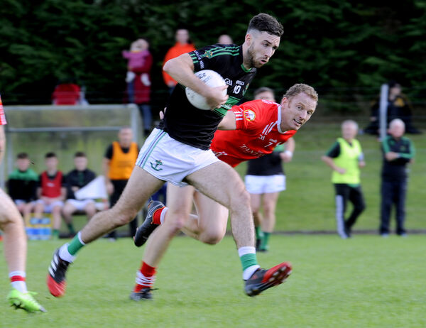 Nemo Rangers' Jack Horgan in action against O'Donovan Rossa. Picture: Gavin Browne