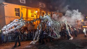 Halloween parade in jeopardy as Dragon of Shandon may be slain by lack of funding