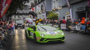 Cannonball cars roar into Blarney