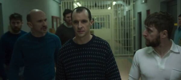 A scene from Maze starring Tom Vaughan-Lawlor shot in the old Cork Prison last year. The building is no longer suitable as a filming location.