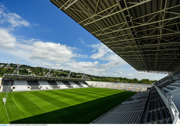 The tribute game will take place in Pairc Uí Chaoimh on September 25. Pic: Eóin Noonan/Sportsfile