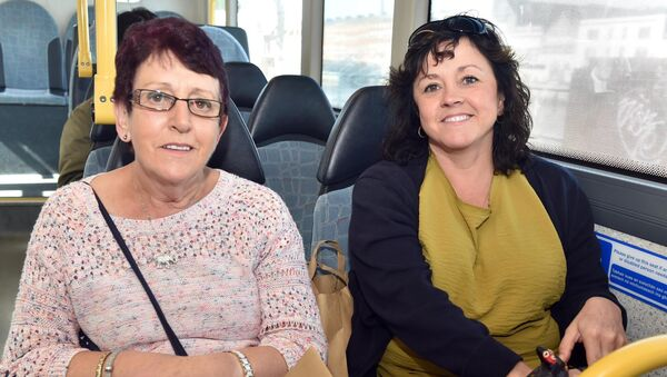 Monica O'Leary and Carol Coleman. Picture: Eddie O'Hare