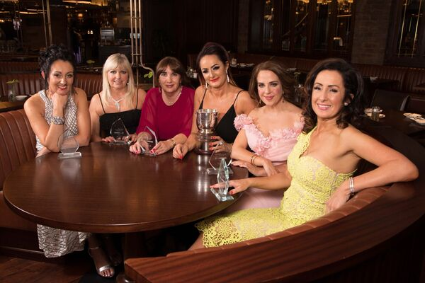 WINNERS: The six category winners were Karen O'Reilly from Employmum, Singer Fiona Kennedy, Maria Desmond, Enable Ireland, Irene Twohig, Edcuogym, Joan Walsh, Partnership International, Shirley Feeney, Shirley's Beauty Clinic. Irene also won the overall Network Cork Business Woman of the Year.