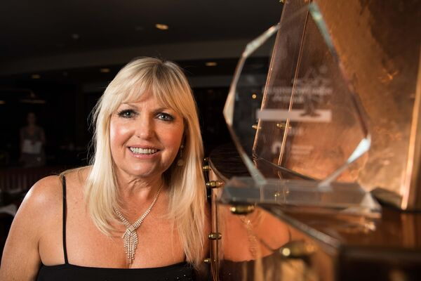 MUSIC TO HER EARS: Singer Fiona Kennedy, who won the Arts Category in the Network Cork Business Woman of the Year Awards.