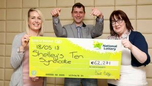 Luckiest workplace in Ireland? Midleton workers have two Lotto wins in two months
