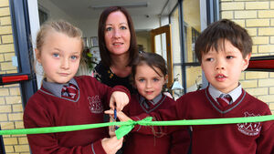 Video & pictures: Bishop officially opens Gaelscoil de hÍde in Fermoy