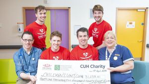 'Relentless Rowers' donate €31k to CUH