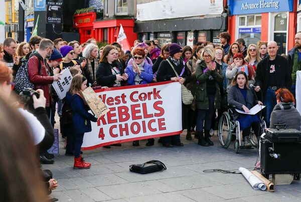 Evie Evans has spoken at West Cork Rebels 4 Choice events.