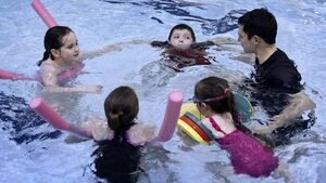 Free swim sessions for kids battling scoliosis