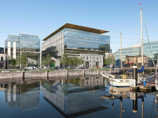 Navigation Square, just one of the many developments mentioned at last night's 'People, Place, Progress' event.