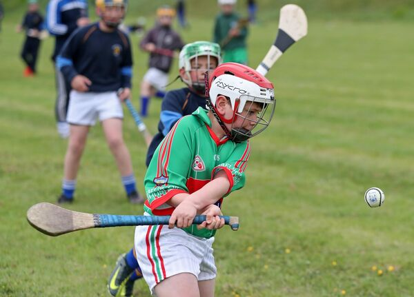 Matthew O'Sullivan, Gaelscoil Mhuscraí, during last year's competition. Picture: Jim Coughlan.