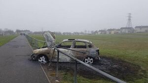 City hit by a spate of stolen and burnt out cars