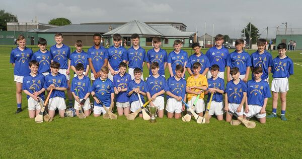 The St Finbarr's Féile team taking part in a training session. Picture: David Keane.