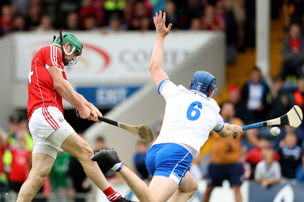 Seamus Harnedy scores his goal. Picture: INPHO/Oisin Keniry