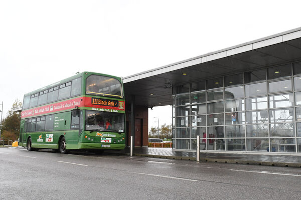 Cork City Council staff also use 30 spaces at Black Ash Park & Ride. Pic: Larry Cummins
