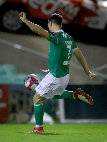 Jimmy Keohane scores the goal. Picture: INPHO/Oisin Keniry