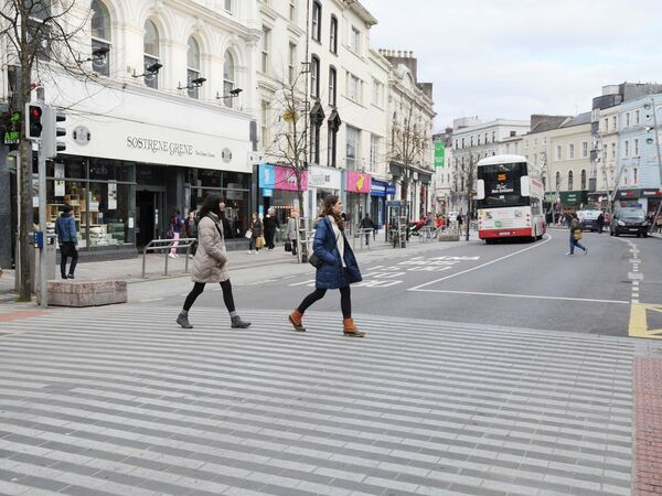 Pedestrians have found life easier during the daily ban.