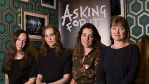 'Asking for It' author will see her play for first time on Friday