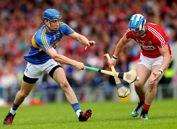 Despite the late error, Sean O'Donoghue impressed again. Picture: INPHO/James Crombie