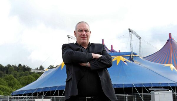 Marquee promoter Peter Aiken, at the Showgrounds. Picture. Jim Coughlan.