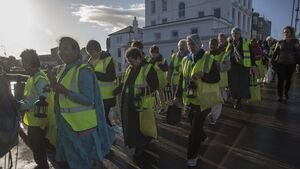 Nuns' lantern-lit procession through Cork to honour Nano Nagle