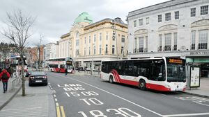 Bus Éireann disappointed at the 'pause' in the Patrick Street car ban