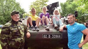 Video & pictures: Defence forces display at Fitzgerald's Park