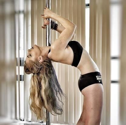 Jenny Schmiedel from Ballinacurra who will compete at the World Pole Dancing Championships in China next week